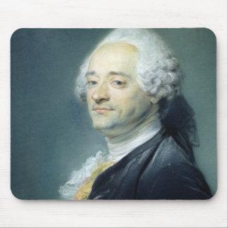 Portrait of Maurice Quentin de la Tour , 1750 Mouse Pad