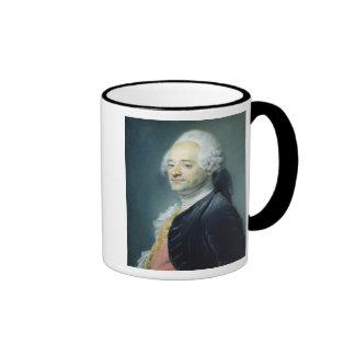 Portrait of Maurice Quentin de la Tour , 1750 Mugs