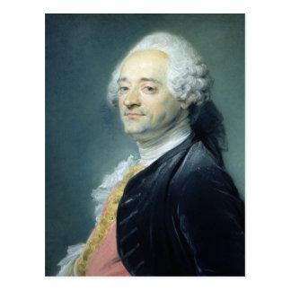 Portrait of Maurice Quentin de la Tour , 1750 Postcard