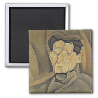 Portrait of Maurice Raynal  1911 2 Inch Square Magnet