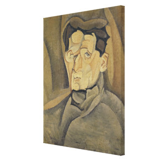 Portrait of Maurice Raynal  1911 Canvas Print