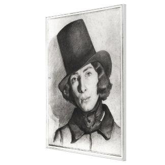 Portrait of Maurice Sand Canvas Print