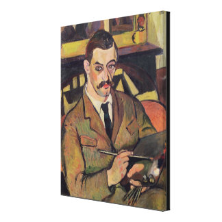 Portrait of Maurice Utrillo  1921 Canvas Print