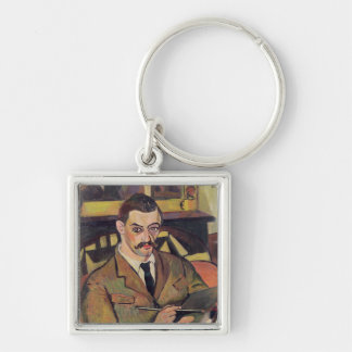 Portrait of Maurice Utrillo  1921 Key Chain