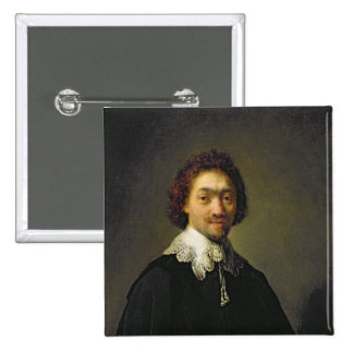 Portrait of Maurits Huygens, 1632 Pinback Button