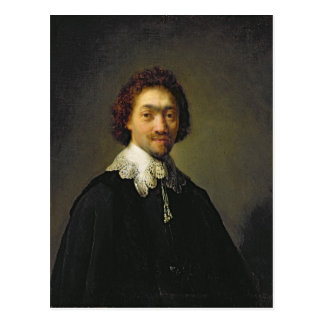 Portrait of Maurits Huygens, 1632 Postcard