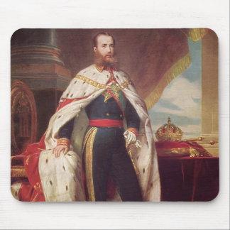 Portrait of Maximilian by Franz Winterhalter Mouse Pads