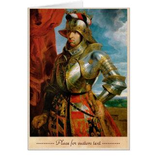 Portrait of Maximilian I Holy Roman Emperor Rubens Card