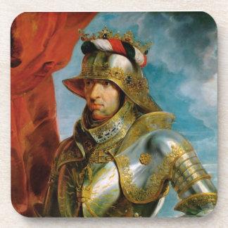 Portrait of Maximilian I Holy Roman Emperor Rubens Drink Coaster