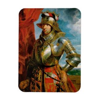 Portrait of Maximilian I Holy Roman Emperor Rubens Magnet
