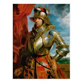 Portrait of Maximilian I Holy Roman Emperor Rubens Postcard