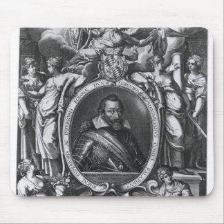 Portrait of Maximilian I of Bavaria Mouse Pad