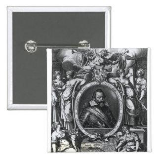 Portrait of Maximilian I of Bavaria Pinback Button