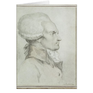 Portrait of Maximilien de Robespierre Card
