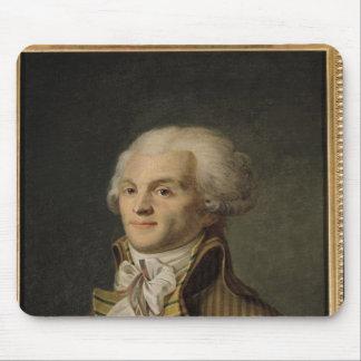 Portrait of Maximilien de Robespierre Mouse Pad