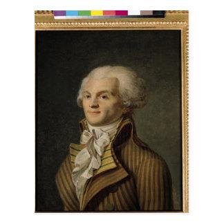 Portrait of Maximilien de Robespierre Postcard