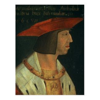 Portrait of Maximillian I Postcard
