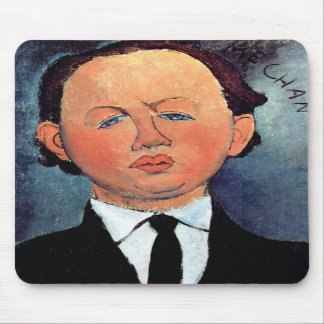 Portrait of Mechan by Amedeo Modigliani Mouse Pad