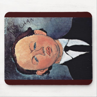 Portrait Of Mechanical By Modigliani Amedeo Mouse Pads