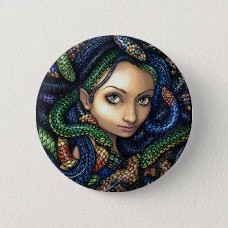 """""""Portrait of Medusa"""" Button"""