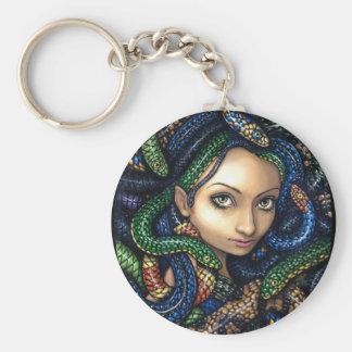 """Portrait of Medusa"" Keychain"