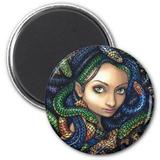 """Portrait of Medusa"" Magnet"