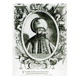 Portrait of Mehmet III Postcard