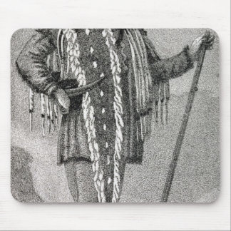Portrait of Meriwether Lewis  engraved Mouse Pad