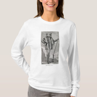 Portrait of Meriwether Lewis  engraved T-Shirt