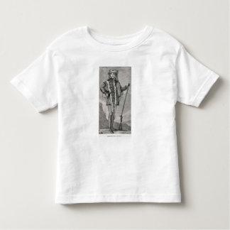 Portrait of Meriwether Lewis  engraved Toddler T-shirt