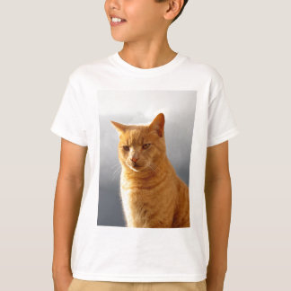 Portrait of Merlin the ginger cat T-Shirt