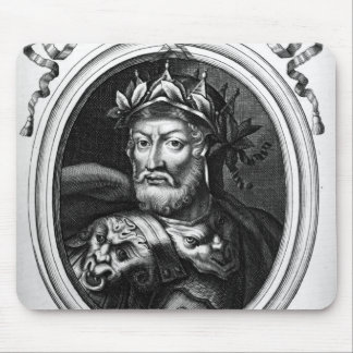 Portrait of Merovech  King of the Salian Franks Mouse Pad