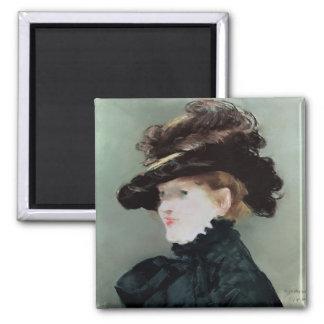 Portrait of Mery Laurent  1882 Magnet