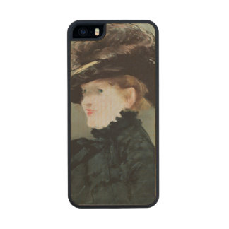Portrait of Mery Laurent  1882 Carved® Maple iPhone 5 Case