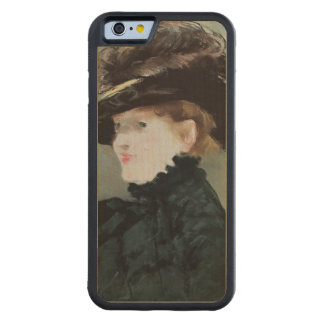 Portrait of Mery Laurent  1882 Carved® Maple iPhone 6 Bumper Case