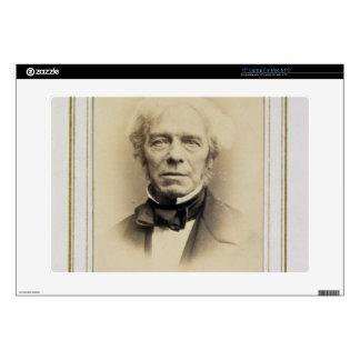 "Portrait of Michael Faraday (1791-1867) (albumen p Decal For 15"" Laptop"