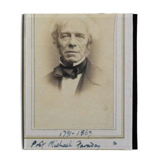 Portrait of Michael Faraday (1791-1867) (albumen p iPad Folio Covers