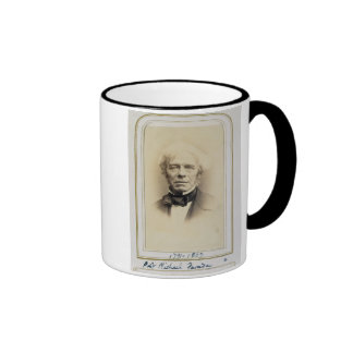 Portrait of Michael Faraday (1791-1867) (albumen p Ringer Coffee Mug
