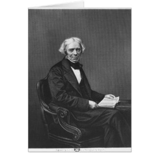 Portrait of Michael Faraday Card