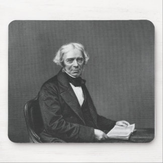 Portrait of Michael Faraday Mouse Pad