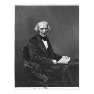 Portrait of Michael Faraday Postcard