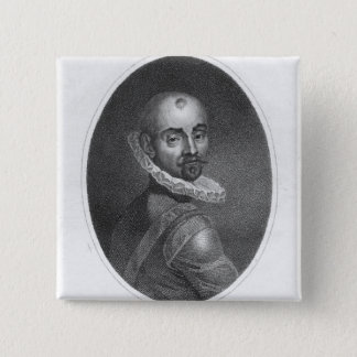 Portrait of Michel de Montaigne Pinback Button