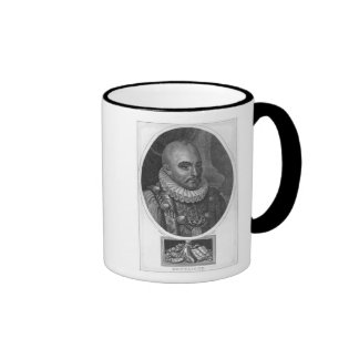 Portrait of Michel de Montaigne Ringer Mug