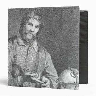 Portrait of Michel de Nostradame Binder