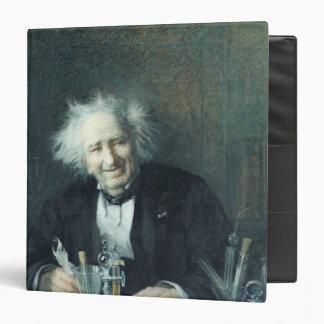 Portrait of Michel-Eugene Chevreul  1888 3 Ring Binder