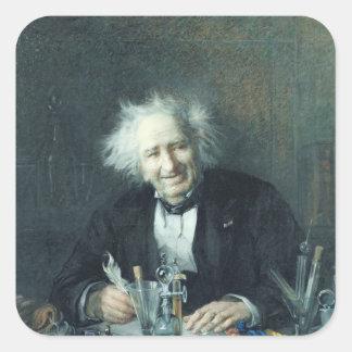 Portrait of Michel-Eugene Chevreul  1888 Square Sticker
