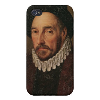 Portrait of Michel Eyquem de Montaigne iPhone 4/4S Cases