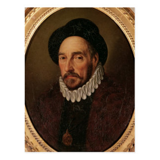 Portrait of Michel Eyquem de Montaigne Postcard