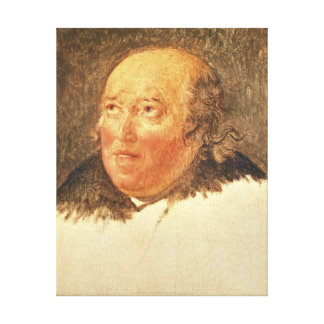 Portrait of Michel Gerard Canvas Print