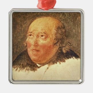 Portrait of Michel Gerard Metal Ornament